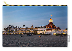 Hotel Del At Twilight Carry-all Pouch