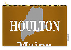 Carry-all Pouch featuring the photograph Houlton Maine State City And Town Pride  by Keith Webber Jr