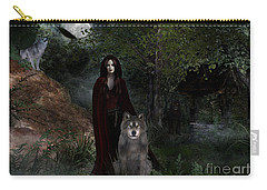 Hour Of The Wolf Carry-all Pouch