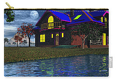 House By The River  Carry-all Pouch by Mark Blauhoefer
