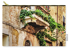 House In Arezzoo, Italy Carry-all Pouch