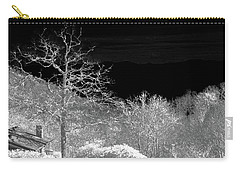 House In Winterland Carry-all Pouch by Dennis Baswell
