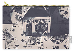 Carry-all Pouch featuring the photograph House Of Cards by Jorgo Photography - Wall Art Gallery