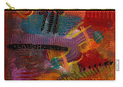 House Of Laughter Carry-all Pouch by Angela L Walker