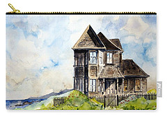 House On Little Lake Street Mendocino Carry-all Pouch