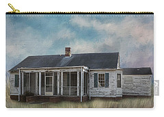 Carry-all Pouch featuring the photograph House On The Hill by Kim Hojnacki