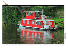 Houseboat On The Mississippi River Carry-all Pouch