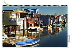 Houseboats Carry-all Pouch by James Kirkikis