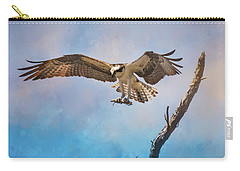Housekeeping Osprey Art Carry-all Pouch by Jai Johnson