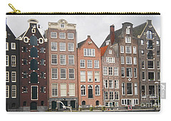 Carry-all Pouch featuring the photograph Houses Of Amsterdam by Therese Alcorn