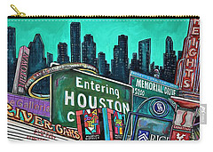 Houston City Limits Carry-all Pouch