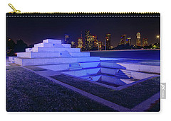 Carry-all Pouch featuring the photograph Houston Police Officer Memorial by Tim Stanley