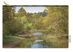 Carry-all Pouch featuring the photograph How Green The Valley by John M Bailey