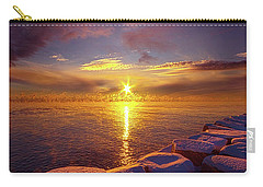 How Loud The Silence Is Carry-all Pouch by Phil Koch