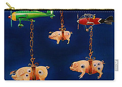How Pigs Learn To Fly Carry-all Pouch
