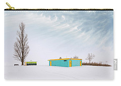 Carry-all Pouch featuring the photograph How To Wear Bright Colors In The Winter by John Poon