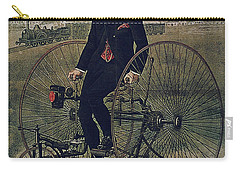 Howe Bicycles Tricycles Vintage Cycle Poster Carry-all Pouch