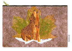 Howling Wolf Carry-all Pouch