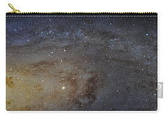 Carry-all Pouch featuring the photograph Hubble's High-definition Panoramic View Of The Andromeda Galaxy by Adam Romanowicz