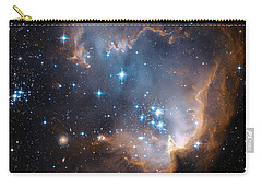 Hubble's View Of N90 Star-forming Region Carry-all Pouch by Nasa