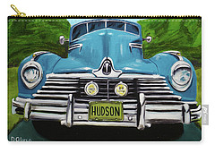 Hudson Blue Carry-all Pouch