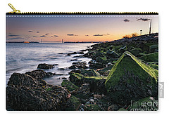 Hudson River And Verrazano-narrows Bridge Carry-all Pouch