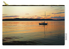 Hudson River From Irvington In Westchester County Carry-all Pouch