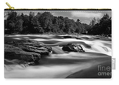 Carry-all Pouch featuring the photograph Hudson River Solice by Darleen Stry
