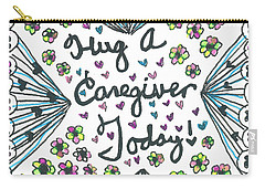 Hug A Caregiver Carry-all Pouch