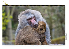 Carry-all Pouch featuring the photograph Hug Me by Scott Carruthers