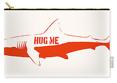 Hug Me Shark Carry-all Pouch by Pixel Chimp