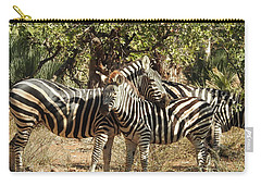 Carry-all Pouch featuring the photograph Hug Time by Betty-Anne McDonald