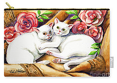 Hugging Cats Carry-all Pouch