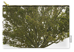 Carry-all Pouch featuring the photograph Hugging The Fairy Tree In Ireland by Ian Middleton
