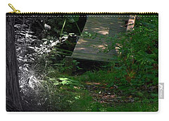Carry-all Pouch featuring the photograph Hugh's Bridge by Richard Ricci