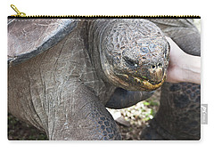 Carry-all Pouch featuring the photograph Hugo Loves Cuddles by Miroslava Jurcik