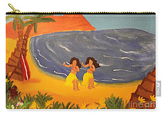 Hula Girls Carry-all Pouch