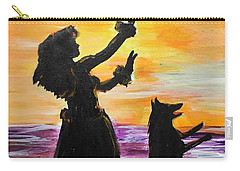 Hula Husky Carry-all Pouch