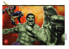Hulk Carry-all Pouch by Pete Tapang
