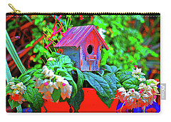 Humming Bird House Carry-all Pouch
