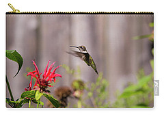Humming Bird Hovering Carry-all Pouch