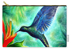 Humming Bird  Carry-all Pouch