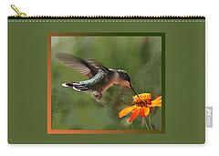 Hummingbird Art Carry-all Pouch