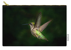 Hummingbird B Carry-all Pouch