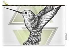 Hummingbird Carry-all Pouch by Barlena