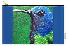 Hummingbird Carry-all Pouch by Catherine Swerediuk