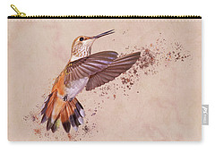 Hummingbird Color Splash I Carry-all Pouch