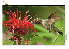 Hummingbird Delight Carry-all Pouch