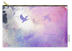 Carry-all Pouch featuring the digital art Hummingbird Dreams by Judy Hall-Folde