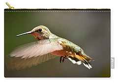 Hummingbird Facing Left Carry-all Pouch